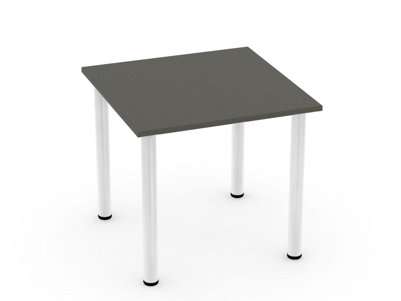 DREVONA09 Stôl 80 x 80 šedý 4 nohy REA FLAT 1