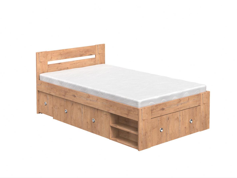 DREVONA09 Študentská posteľ 120 dub lancelot REA LARISA