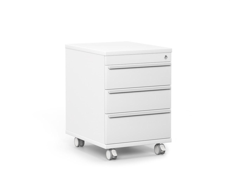 DREVONA09 Šuflíkový kontajner biely RP KN 3