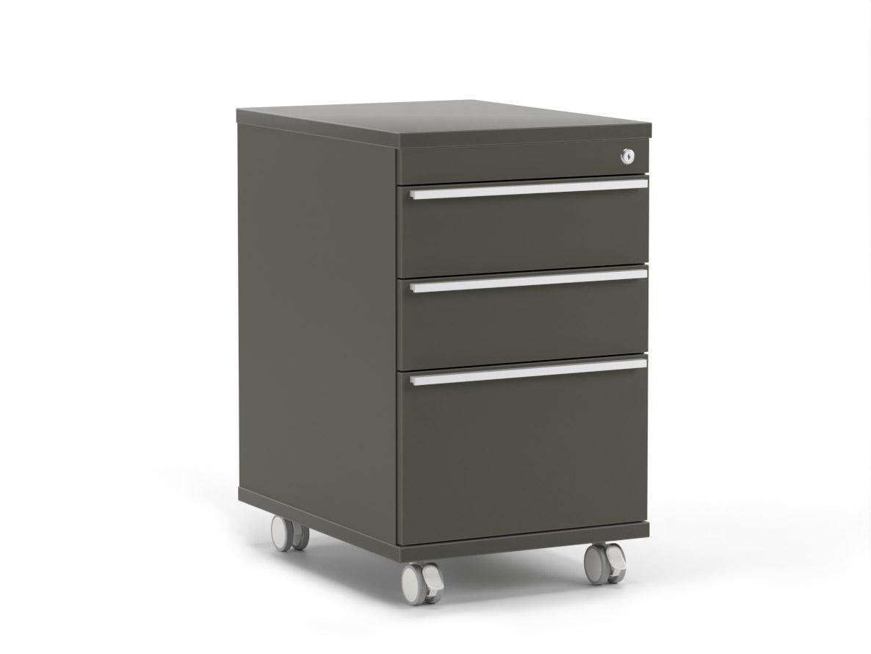DREVONA09 Zásuvkový kontajner grafit RP KN 1