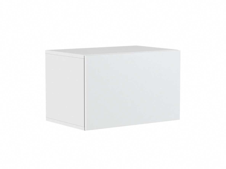 DREVONA03 Závesná skrinka na stenu TETRIS 02, biela