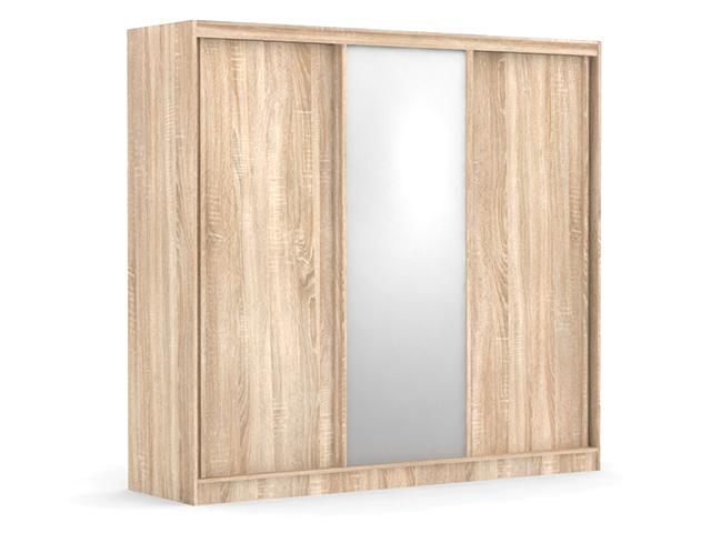 DREVONA09 Zrkadlová skriňa dub bardolíno ATLANTA 3