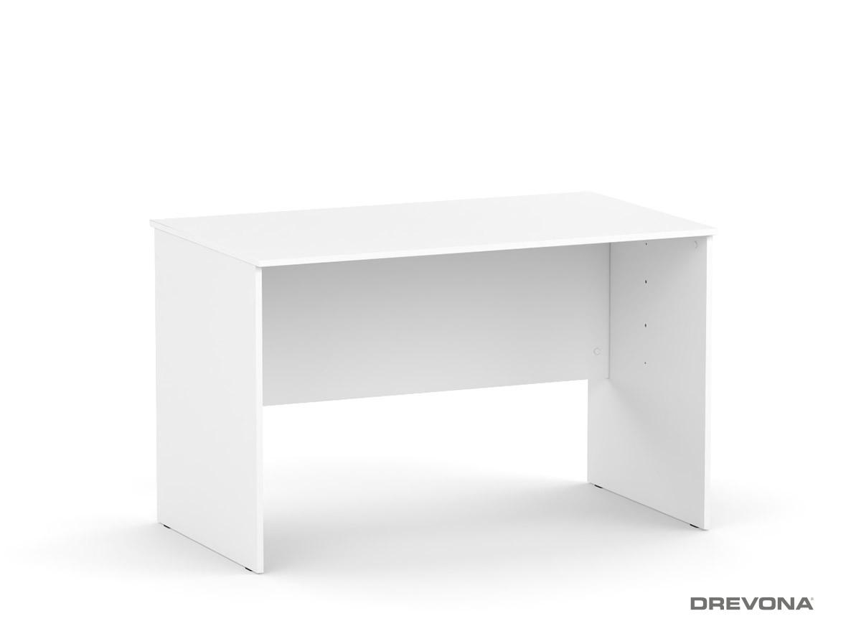 b2b3a8420796 Písací stôl rokovací 120 biely REA OFFICE 67 pi za