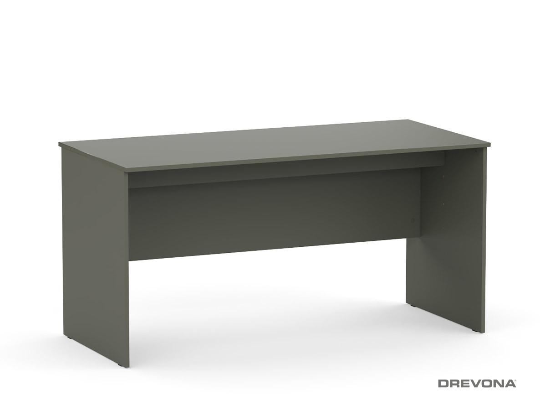 7b0f4159af2d Písací stôl rokovací 150 cm grafit REA OFFICE 60 pi za