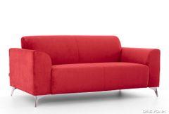 3-sed talianský design červený AVA SIMPLY London 308
