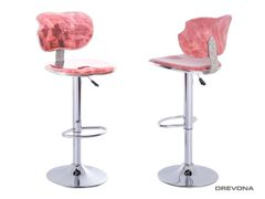 Barová stolička červená DANTE