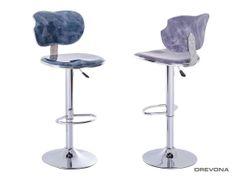 Barová stolička modrá DANTE