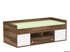 Detská posteľ 90 orech rock. biela POPPO