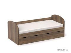 Detská posteľ orech rockpile REA GOLEM