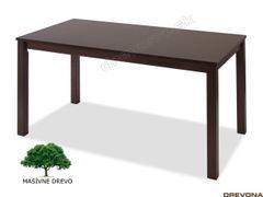 Drevený stôl masív wenge ALMOND