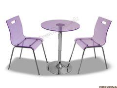 Jedálenský komplet fialový RUUT