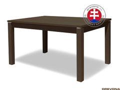 Jedálenský stôl dub tmavý MALIBU