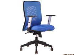 Kancelárska stolička modrá CALYPSO