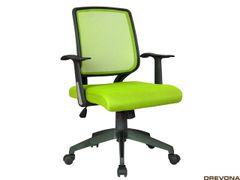 Kancelárske kreslo mesh zelený JELA
