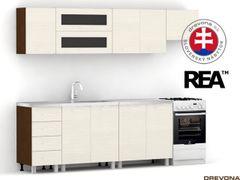 Kuchyňa 250 cm w+n ALFA UP 1