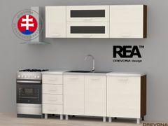 Kuchynská linka 180 W+N REA ALFA ZZ 3