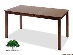Kuchynský stôl masív orech ALMOND