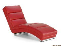 Leňoška do obývačky červená HERA
