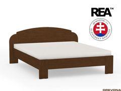 Manželská posteľ 160 cm wenge REA NINA