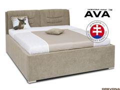 Manželská posteľ 180 cm cappuccino IBBY