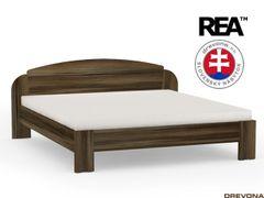 Manželská posteľ 180 cm orech rock NINA