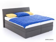 Manželská posteľ 180 cm šedá LIPARI 2, M05