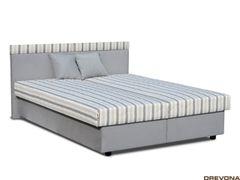 Manželská posteľ čelo s pásikmi EDITA