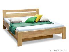Manželská posteľ z bukového masívu 160x200 MATE 2