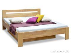 Manželská posteľ z bukového masívu 180x200 MATE 2