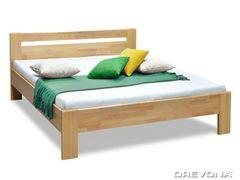 Manželská posteľ z masívu buk 160x200 MATE