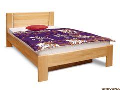 Masívna posteľ 120 s roštom, buk CELESTE 2