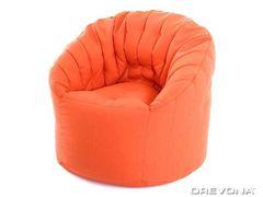 Nepremokavý sedací vak oranžový AVA ZELVA Satt 16