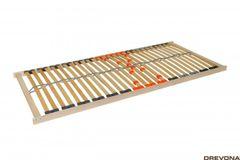 Pevný rošt lamelový 80 x 200 DOUBLE KLASIK