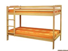 Poschodová posteľ buk MAJO