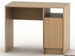 Stôl pod PC buk FER-030-00