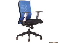 Stolička modro-čierna CALYPSO