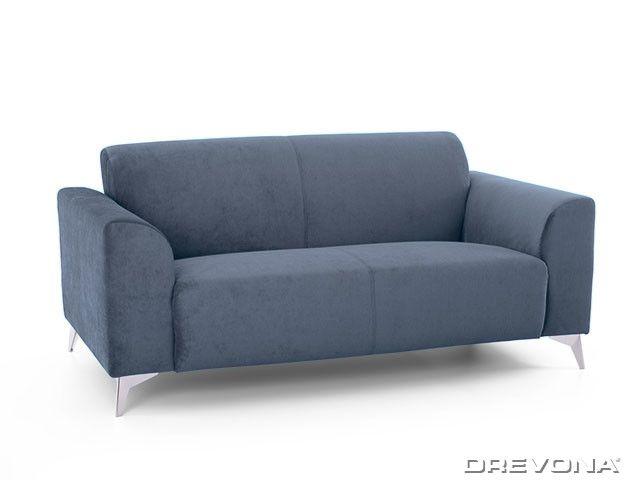 2-sed talianský design modrý AVA SIMPLY London 313