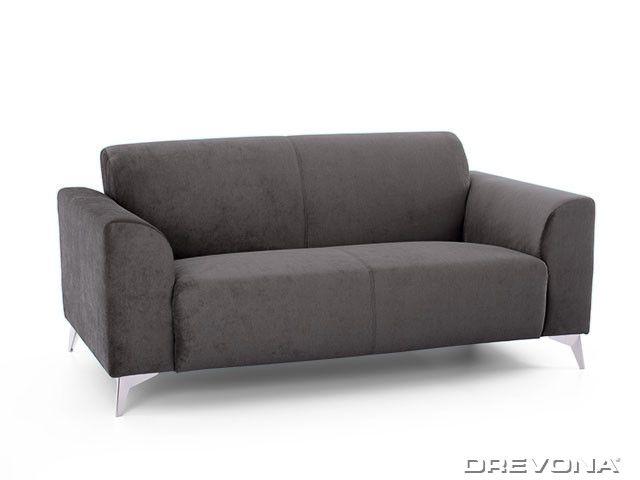 2-sed talianský design šedý AVA SIMPLY London 315