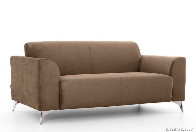 3-sed talianský design hnedý AVA SIMPLY London 304