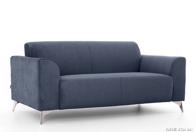 3-sed talianský design modrý AVA SIMPLY London 313