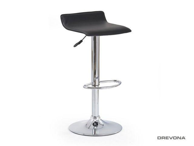 Barová stolička čierna H-1