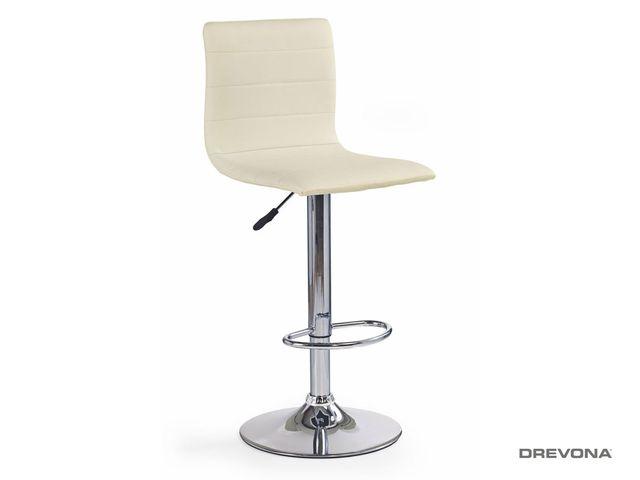 Barová stolička krémová H-21