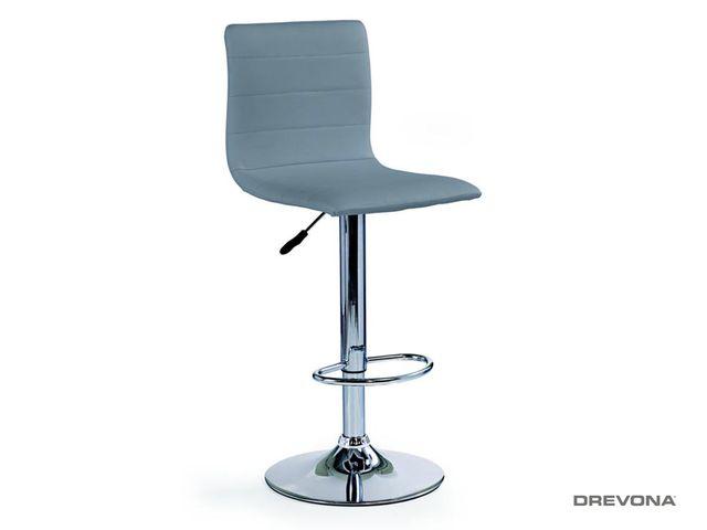Barová stolička sivá H-21