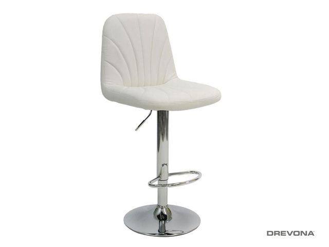 Biela barová stolička LIPO