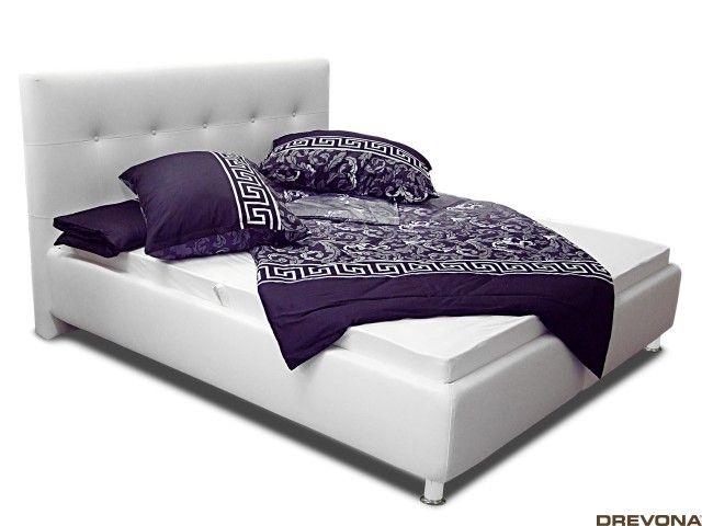 3761e25b8998 Čalúnená posteľ biela PENELOPE 6