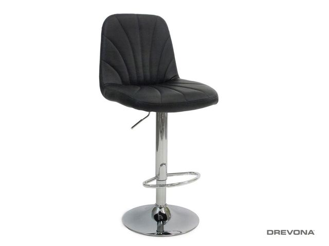 Čierna barová stolička LIPO