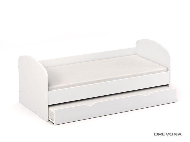 Detská posteľ biela REA ABRA