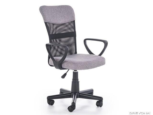 Detská stolička šedá TIMMY