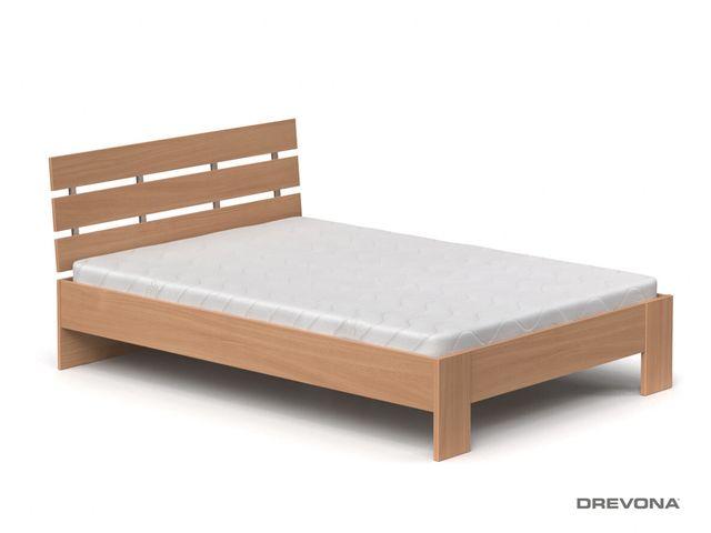 Drevená posteľ 140 cm buk REA NASŤA