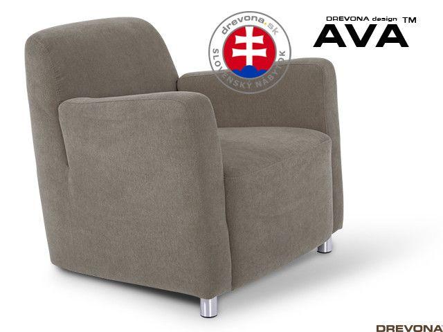 Fotel cappuccino AVA PIXY 1 (Orinoco 24)